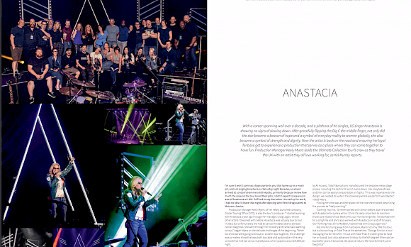 TPi interviews GTO on latest European Anastacia Tour